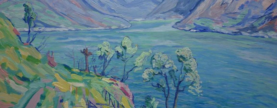 'Berglandschap, naar Filarski'